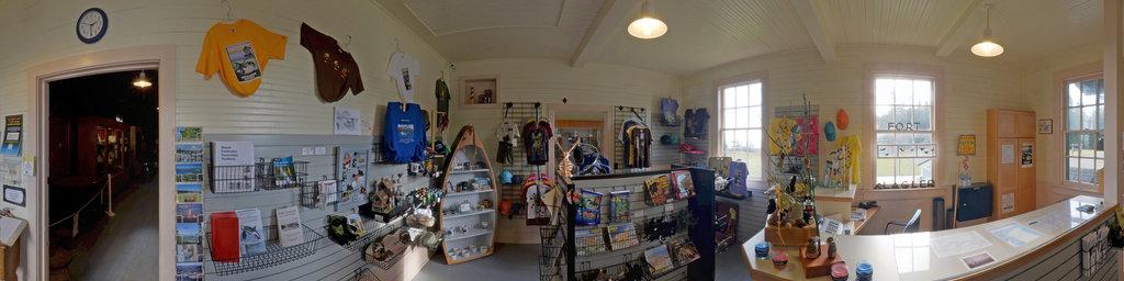 Park Gift Shop - Fort Flagler State Park, Washington