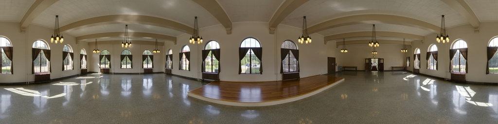 Historic Grand Dining Hall - Saint Edward State Park, Washington State