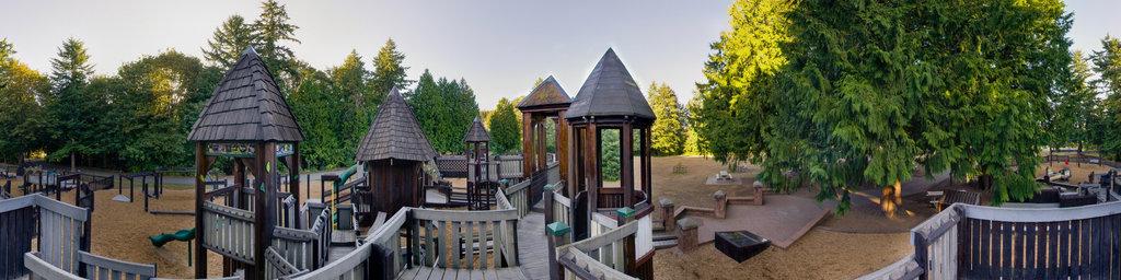 Saint Edward Playground (3) - Saint Edward State Park, Washington State