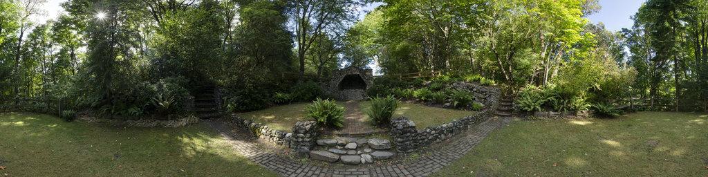 Saint Edward Grotto - Saint Edward State Park, Washington State