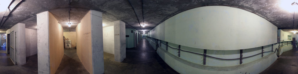 Battery 246, NW Main Corridor - Fort Columbia State Park, Washington