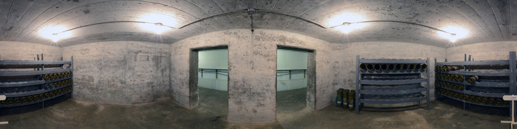Battery 246, Powder Room - Fort Columbia State Park, Washington