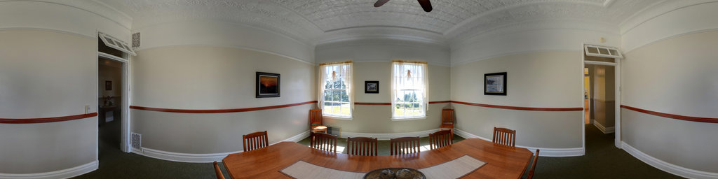 Dining Room, Scarborough House - Fort Columbia State Park, Washington