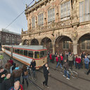 Historische Strassenbahn GT4c Freimarkt 2011