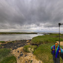 Iceland Coast at Stokkseyri